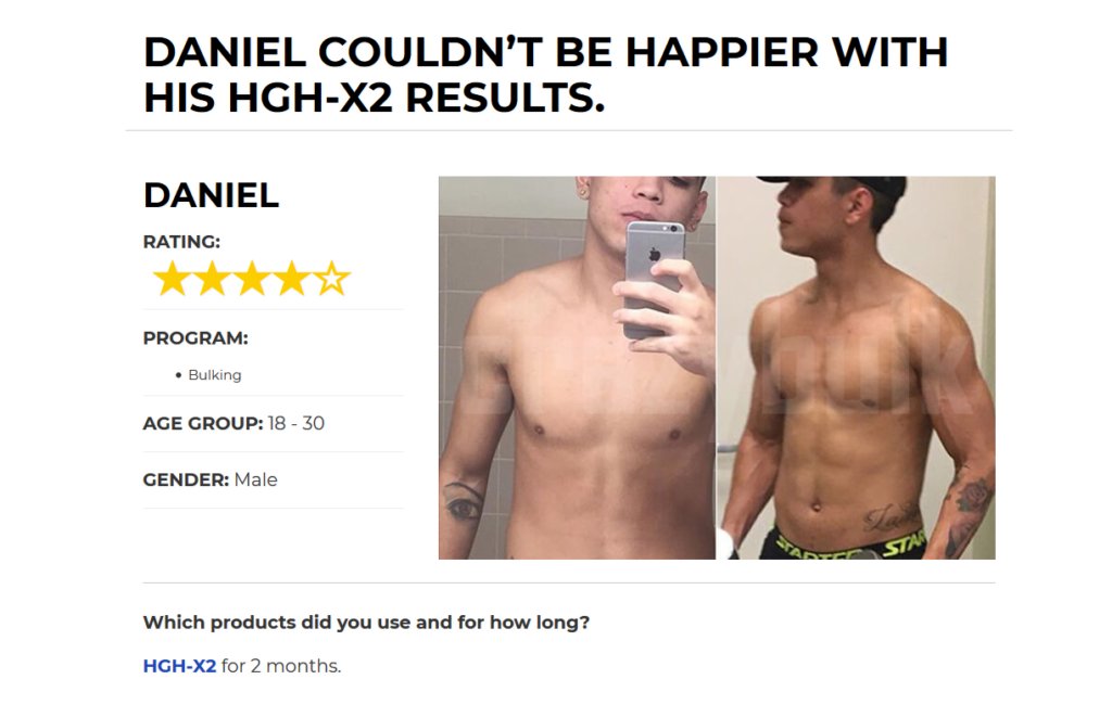 HGH-X2 Reviews And Testimonials